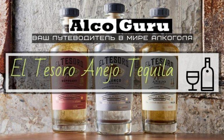 El Tesoro Anejo Tequila